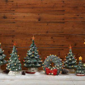Vintage Ceramic Trees