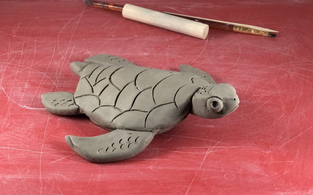 Clay To Go Kit – Sea Turtle Edition FB Live