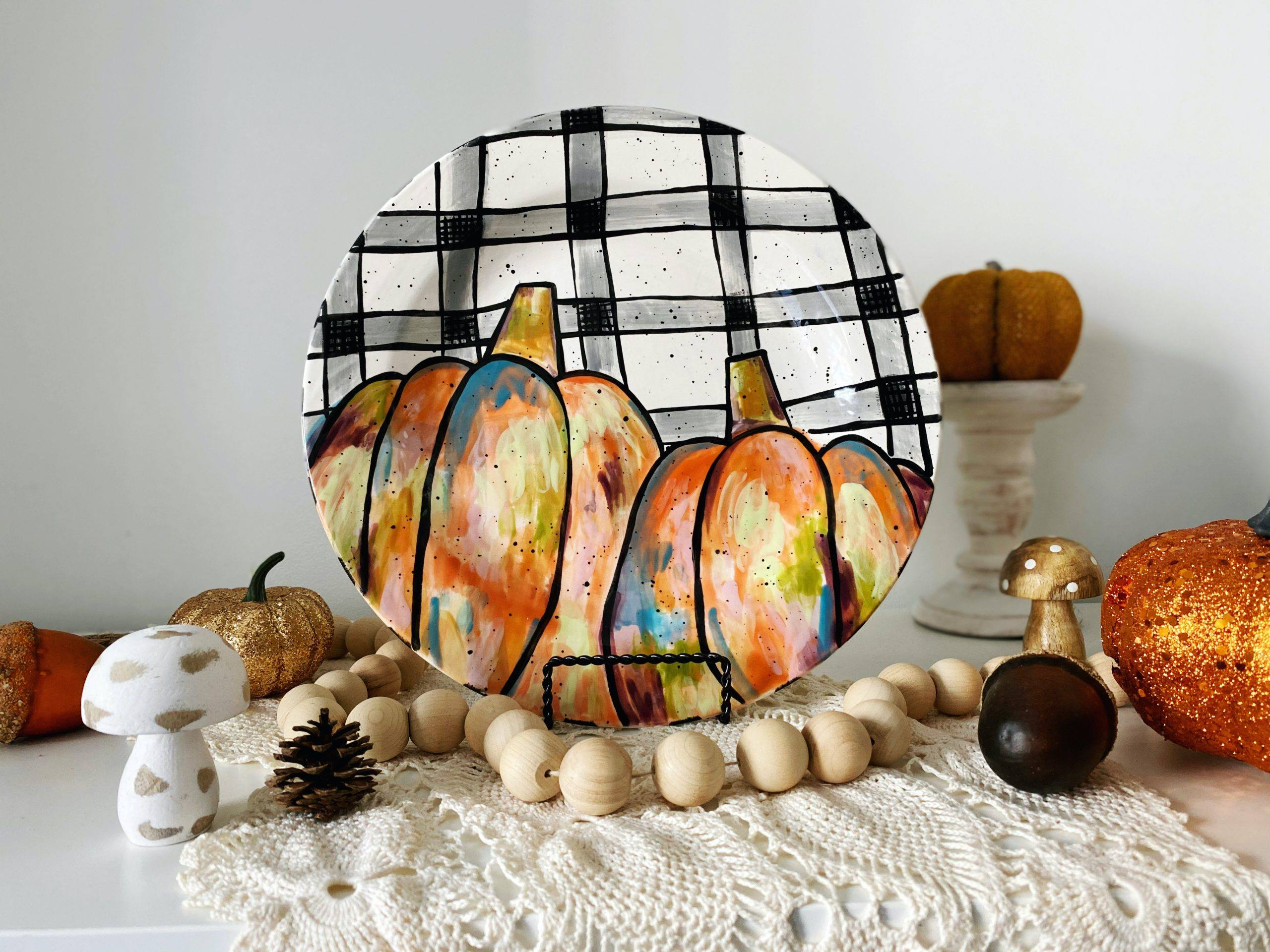 Pottery, Ceramic, Painting